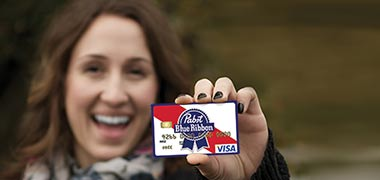 Women with PBR Credit Card