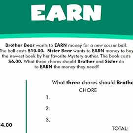 Earn Worksheet