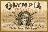 Olympia Beer Pale Export Logo
